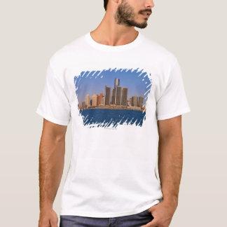 T-shirt Bâtiments de Detroit sur l'eau