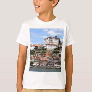 T-shirt Bâtiments historiques et rivière, Porto, Portugal