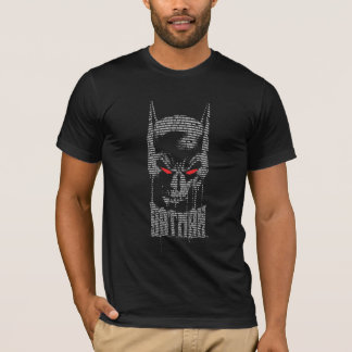 T-shirt Batman avec l'incantation