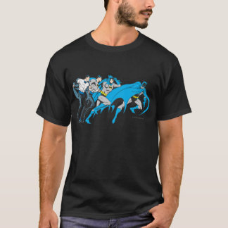 T-shirt Batman/transformation de Bruce