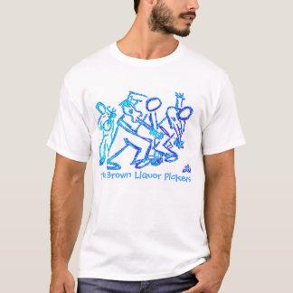 T-shirt Bâton bleu BLP, les récolteuses de boisson