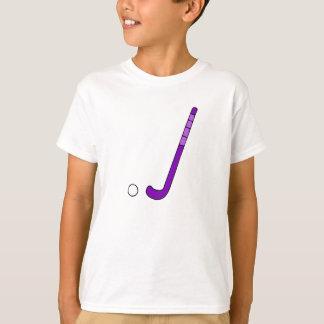 T-shirt Bâton de pourpre d'hockey de champ
