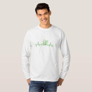 T-shirt Battements de coeur végétaux végétariens
