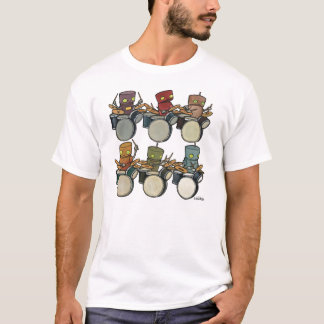 T-shirt Batteurs de robot