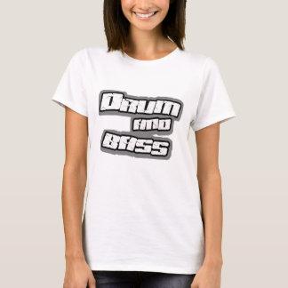 T-shirt BATTEZ DU TAMBOUR du dessus BAS de Breakbeat DJ de