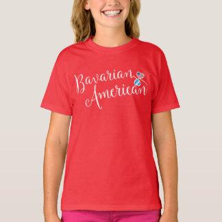 T-shirt bavarois de coeurs d'Entwinted d'Américain