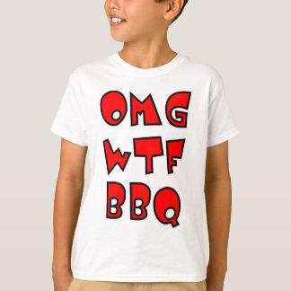T-SHIRT BBQ D'OMG WTF