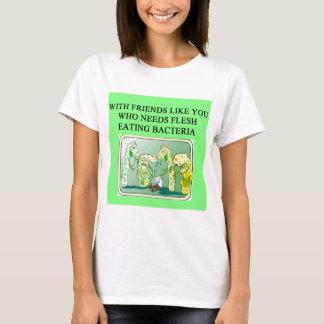 T-shirt bcateria de consommation de chair