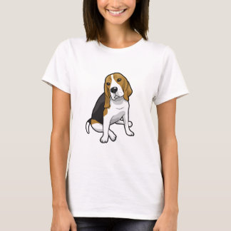 T-shirt Beagle se reposant