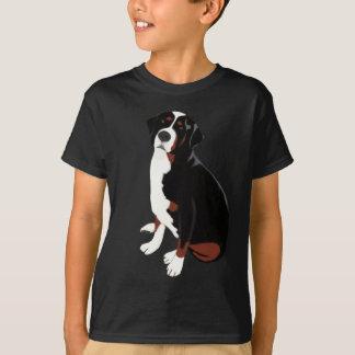 T-shirt Beau chien de montagne