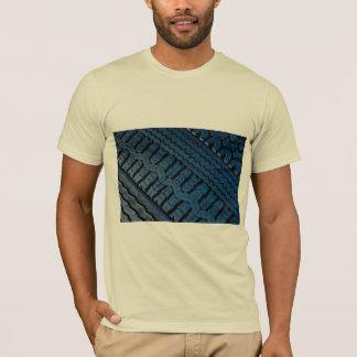 T-shirt Beau motif de bande de roulement de pneu