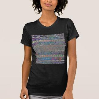 T-shirt Beau motif géométrique aztèque coloré frais