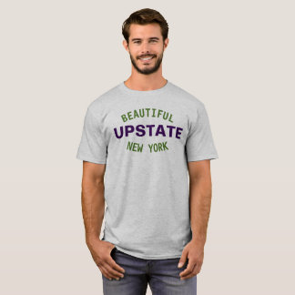 T-shirt Beau New York hors de la ville