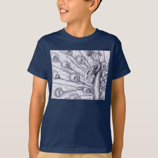 T-shirt Beau paon