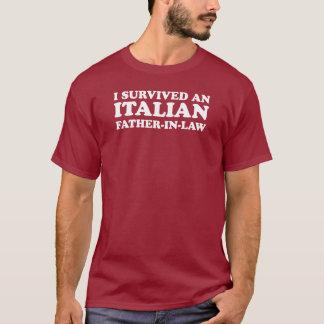 T-shirt Beau-père italien survécu (SUR l'OBSCURITÉ)