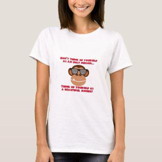 T-shirt Beau singe