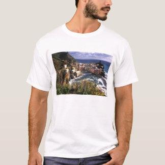 T-shirt Beau village de Vernazza dans le Cinque