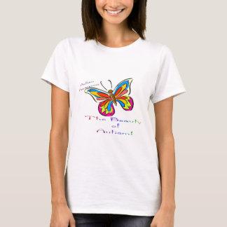 T-shirt beauté d'autisme