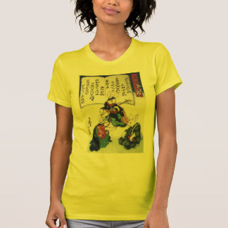 T-shirt beaux-arts épidémiques de Kuniyoshi de lapin de