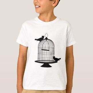 T-shirt beaux regards de riches de style de mode de motif