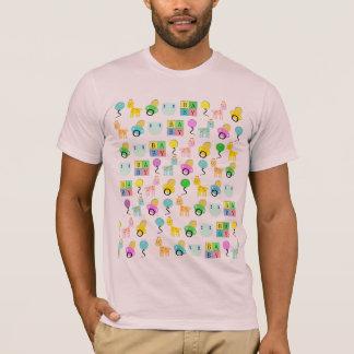 T-shirt Bébé 4 pièce en t mignonne ABDL de bébé adulte de