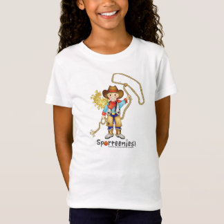T-Shirt Bébé de cow-girl - chemise de poupée