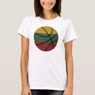 T-shirt Bébé de dames de basket-ball de la Lithuanie -