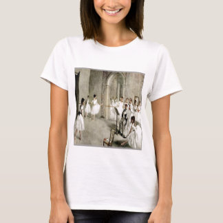T-shirt Bébé de dames de pratique en matière de ballet -
