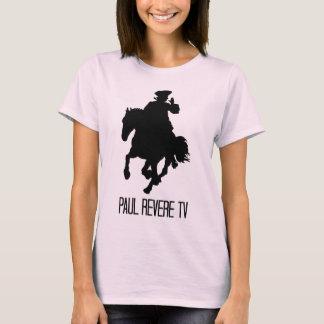 T-shirt Bébé de dames roses - poupée