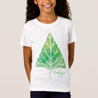 T-Shirt Bébé de filles de Treehugger - poupée (adaptée)