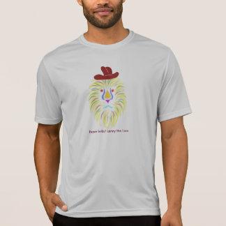 T-shirt Bébé de paix !  - Lenny le lion