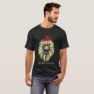 T-shirt Bébé de paix !  Lenny le lion