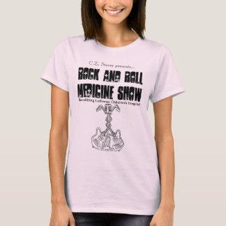 T-shirt Bébé d'exposition de médecine de rock - pièce en t