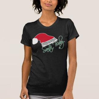 T-shirt Bébé drôle Bling de Père Noël de Noël