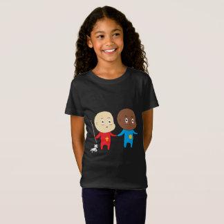 T-Shirt Bébé drôle Saint-Nicolas de conception d'art