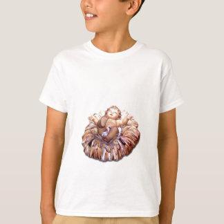T-shirt Bébé Jésus de faveur de Noël à Bethlehem