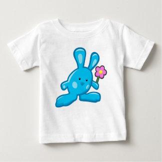 T-shirt bébé - Lapin bleu