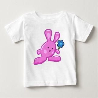 T-shirt bébé - Lapin Rose