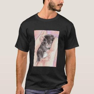 T-shirt Bébé noir d'abruti