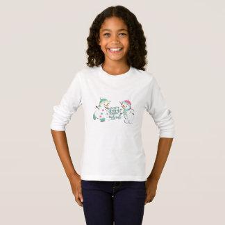 T-shirt Bébé ses bonhommes de neige froids