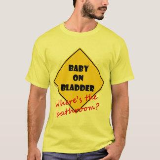 T-shirt Bébé sur la vessie