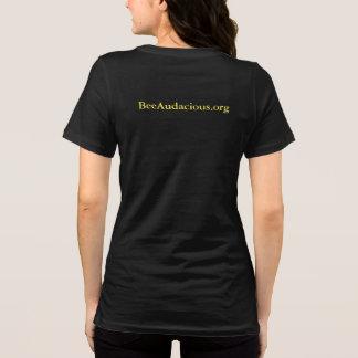 T-shirt BeeAudacious.org - pièce en t audacieuse de marché