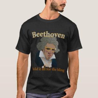 T-shirt Beethoven Bling