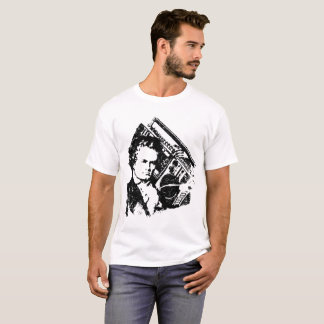 T-shirt Beethoven hip-hop ghettoblaster old school