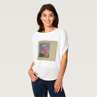 T-shirt Bel oiseau de conception d'art