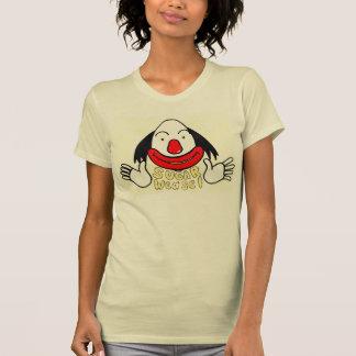 T-shirt Belette de sucre le visage de bande dessinée de