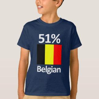 T-shirt Belge de 51%