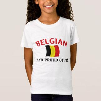 T-Shirt Belge fier