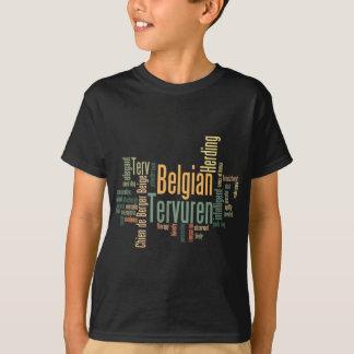 T-shirt Belge Tervuren