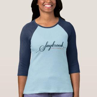 T-shirt Bella des femmes de Saybrook+T-shirt de douille de